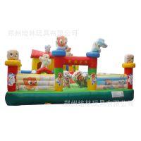 【特价促销充气城堡】10*6虹猫蓝兔儿童城堡