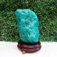 天然绿松石 绿松石原石绿松石奇石摆件 辟邪 招财矿物标本 批发