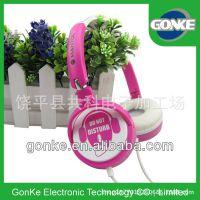 工厂 2014热卖头戴式耳机 儿童礼品耳机 节日促销礼品头戴耳机