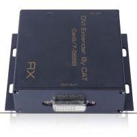 单网线DVI延长器 CAT6/CAT7网线延长DVI信号50米