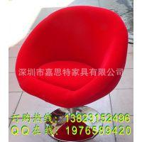 购买低靠背欧式布艺餐椅酒店椅子软包沙发椅餐厅咖啡厅矮前背椅