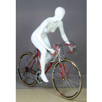 供应骑自行车造型女模特道具