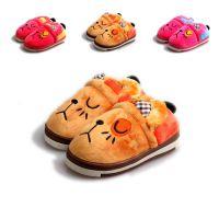 批发2014款棉鞋 儿童宝宝亲子卡通保暖鞋 金磊棉鞋 小花猫童鞋