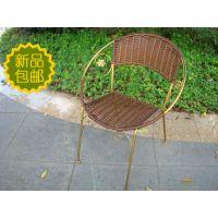 藤椅子 太阳童椅 编藤小椅  大号儿童藤椅 背靠椅