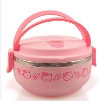 700ml KT单层饭盒 KT保温饭盒 KT保温桶 便当盒 不锈钢饭盒