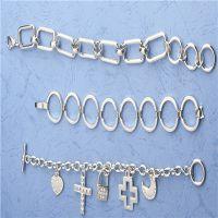 外贸饰品 锌合金个性耳环 韩版锌合金手链加工