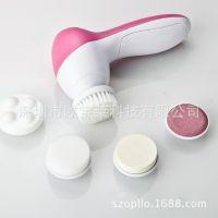 洁面仪 五合一 电动洗脸神器 电子美容仪 脸部按摩器 电动瘦脸器