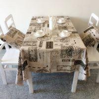 复古系列 新款高档美式全棉桌布台布餐厅咖啡馆装饰桌布台布