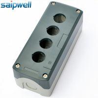 热销SBX04指示灯按钮盒 168*68*54灯控制盒 四孔开关保护盒
