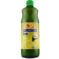 新的Sunquick 浓缩型果汁 西柚味新鲜果汁840ml 新的浓缩西柚果汁
