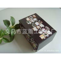 厂家生产加工高档品牌手表盒 塑胶手表盒 皮质手表盒 单支手表盒