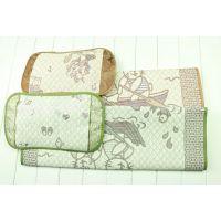 厂价直销 婴甸园夏季婴儿凉席+凉枕套装 儿童凉席/宝宝凉席