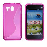 huawei 华为 Y320 (通用) S型清水套 TPU防滑手机软壳 手机保护套