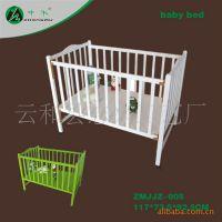 供应婴儿床(奶白)/木制婴儿床/木制儿童家具