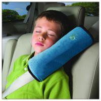 儿童安全带护肩 汽车卡通可爱短毛绒套 车用婴儿睡觉用品厂家批发