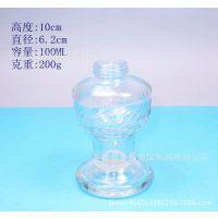 厂家定制生产各种规格的玻璃瓶100ml 酒精灯煤油灯玻璃