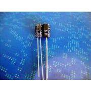 GD电容7mm高超小型无极性电解电容NP4.7UF50V 4X7
