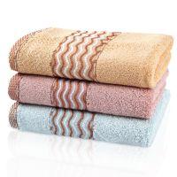 厂家批发竹纤维海浪毛巾竹纤维毛巾 礼品毛巾特价 毛巾批发代理