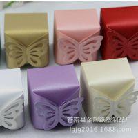 欧式喜糖盒 婚宴糖果盒 蝴蝶纸盒 精美小纸盒 批发定做
