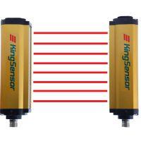kingsensor C20-0810 10mm间距红外线测量光幕 高精度红外线光栅传感器