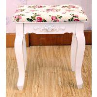特价促销 宜家田园梳妆凳 欧式风格 实木化妆凳 坐凳 换鞋凳子