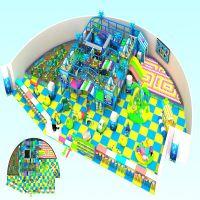 深圳室内儿童乐园,淘气堡厂家定制,可上门实际测量场地