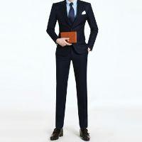 男士西服套装结婚新郎礼服韩版商务修身绅士高档西装