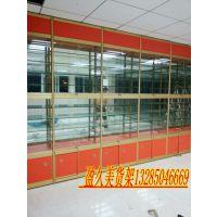 供应定做精品展柜 展示架 精品货架 玻璃柜台 手机展示柜