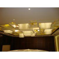 广东中山古镇水晶灯厂家 格子水晶灯 吸顶水晶灯 酒店工程水晶灯