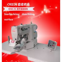 工业打枣机价格 打枣机批发 服装加工设备RN-430D电脑套结缝纫机 日本奥玲套结缝纫机