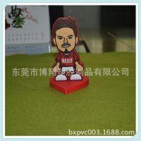 来图定做PVC日本足球队人物公仔摆件 卡通足球公仔