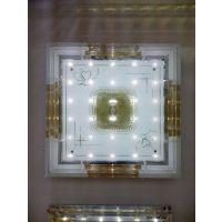 供应供应现代简约LED水晶吸顶灯 客厅灯卧室灯 灯具灯饰厂家