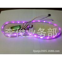 供应LED白光七彩灯条3伏电源