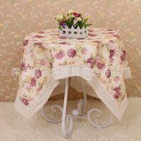 厂家批发 定制 餐桌布 台布 多用途万能盖巾 茶几布 圆桌布