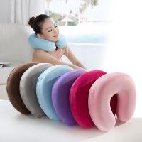 专业生产 新款U型护颈枕 慢回弹记忆枕 旅行办公午睡枕
