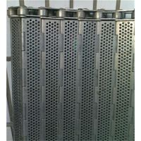 不锈钢链板式网带 润通机械(图) 不锈钢链板用途