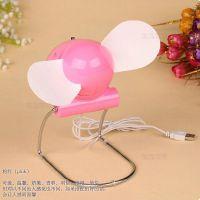 软扇叶超静音风扇 便携式小空调 迷你小风扇 USB电池两用小空调