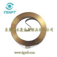 供应供应涡卷弹簧发条/卷簧/S形发条/收线发条 专业生产研发15年