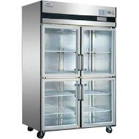 供应星星四门标准展示柜 星星单温冷藏四门冰箱 星星SG1.0L4四门冰箱