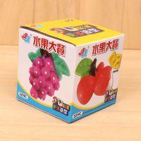 3D立体彩泥玩具 无毒橡皮泥 水果套餐彩泥套装 儿童益智玩具 3219