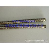 福莱通双勾不锈钢软管 ,不锈钢双扣包塑软管,304不锈钢接头厂家