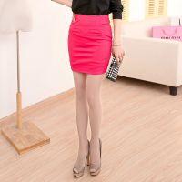 2015春装 时尚精品女装 韩版修身显瘦半身裙包裙 枫之玲051238