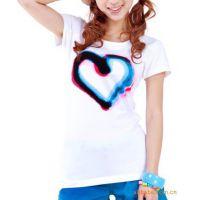 供应简略基本款夏季短袖打底衫女式莱卡棉T恤批发 质量保证