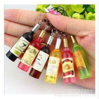 创意小礼品 啤酒瓶手机挂件 淘宝赠品 促销礼品小酒瓶挂件8g9