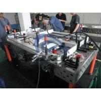 【东莞三威装备】三维柔性铸铁平台 SWK-2400x1200x730