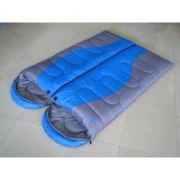 正品户外野营春秋睡袋 信封式睡袋 可拼接双人情侣睡袋