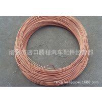 冷凝器、蒸发器使用镀铜管、邦迪铁、镀锌管、制冷管、高频焊管