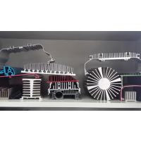 专业定制LED灯具梳子型散热器散热片铝型材 可来图来样定做