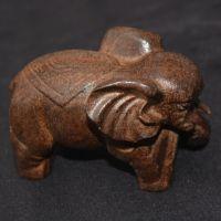 天然越南沉香手把件大象吉祥物正宗木雕工艺品摆件 送礼厂家直销
