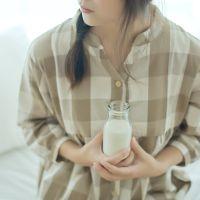 无印良品家居服 春秋季日系简约纯棉睡裙 格子宽松全棉女人睡衣